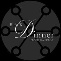 Nate Green's black food dinner for Projet Noir