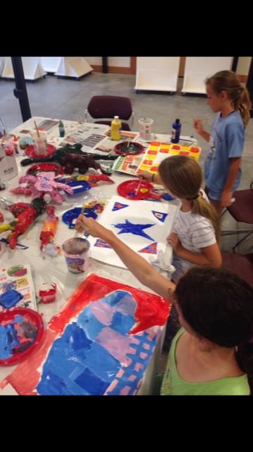 Art Camp with Georgia O'Neal 6-8 years old