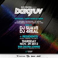 Barcelona Pasadena presents BARGRUV! A Sexy Night of...