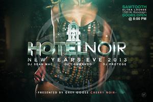 Grey Goose Cherry Noir Presents: Hotel Noir NYE 2013 @...