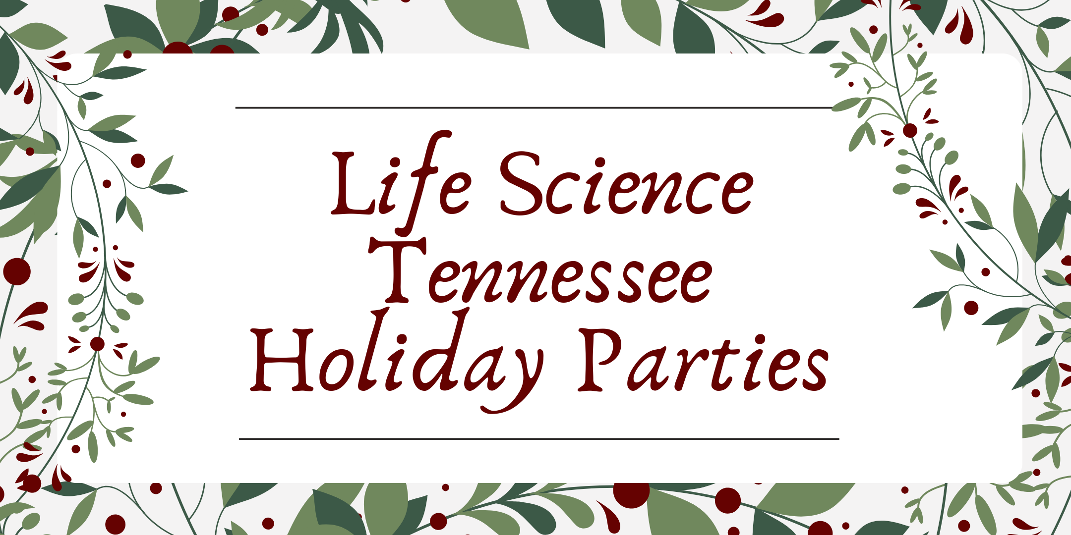 2019 Life Science TN Holiday Party - Knoxville