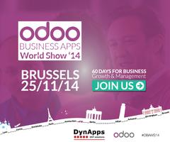 Odoo Roadshow DynApps Brussels