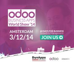 Odoo Roadshow DynApps Amsterdam