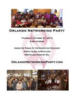 Orlando Networking Party on Oct. 9 Hosted at An Tobar