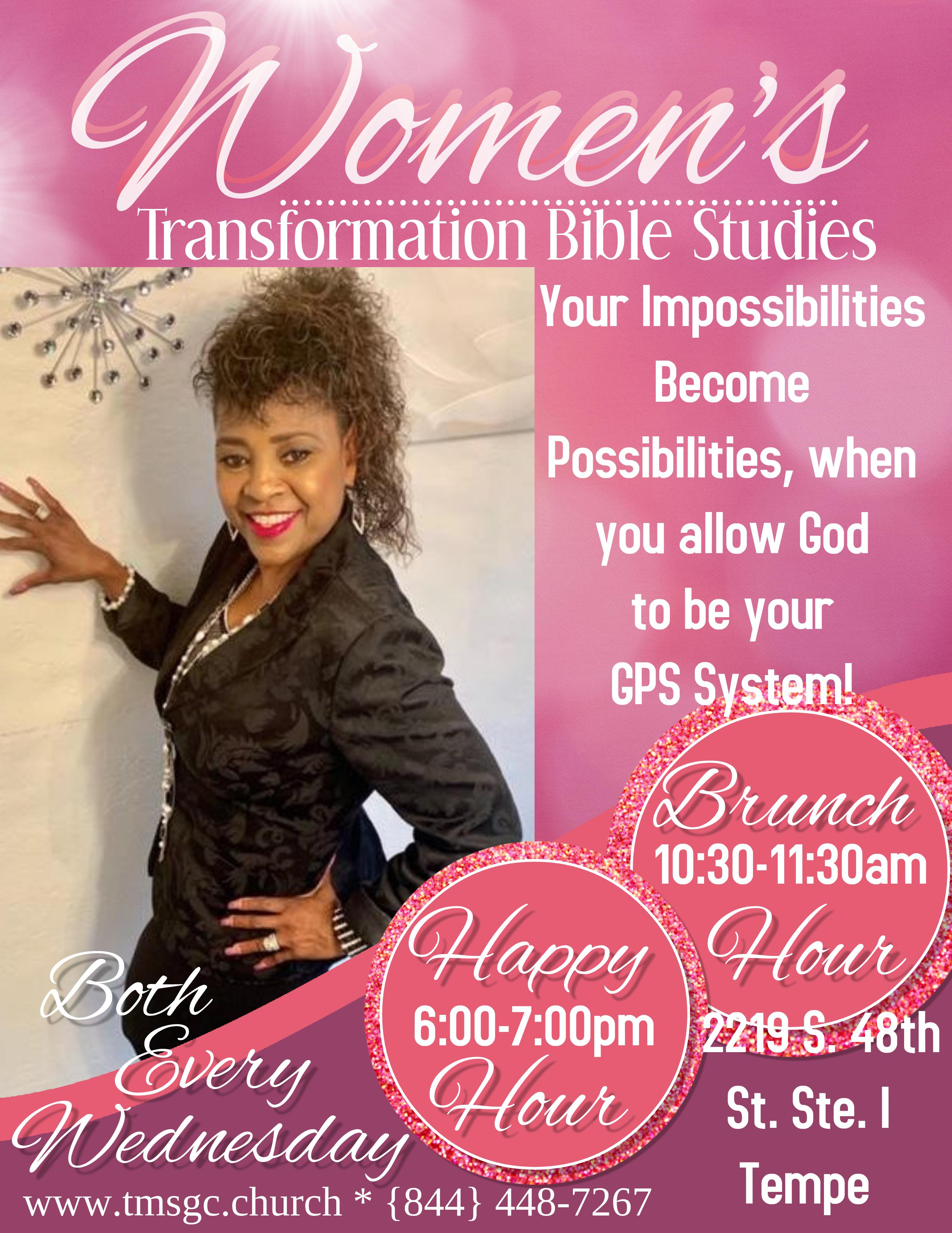 Women's Happy Hour Transformation Bible Study