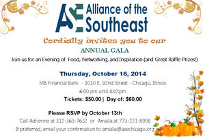 Alliance of the SouthEast (ASE) Annual Gala Oct. 2014