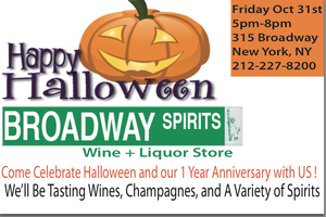 Halloween/ 1 Year Anniversary Party Free Liquor + Wine...