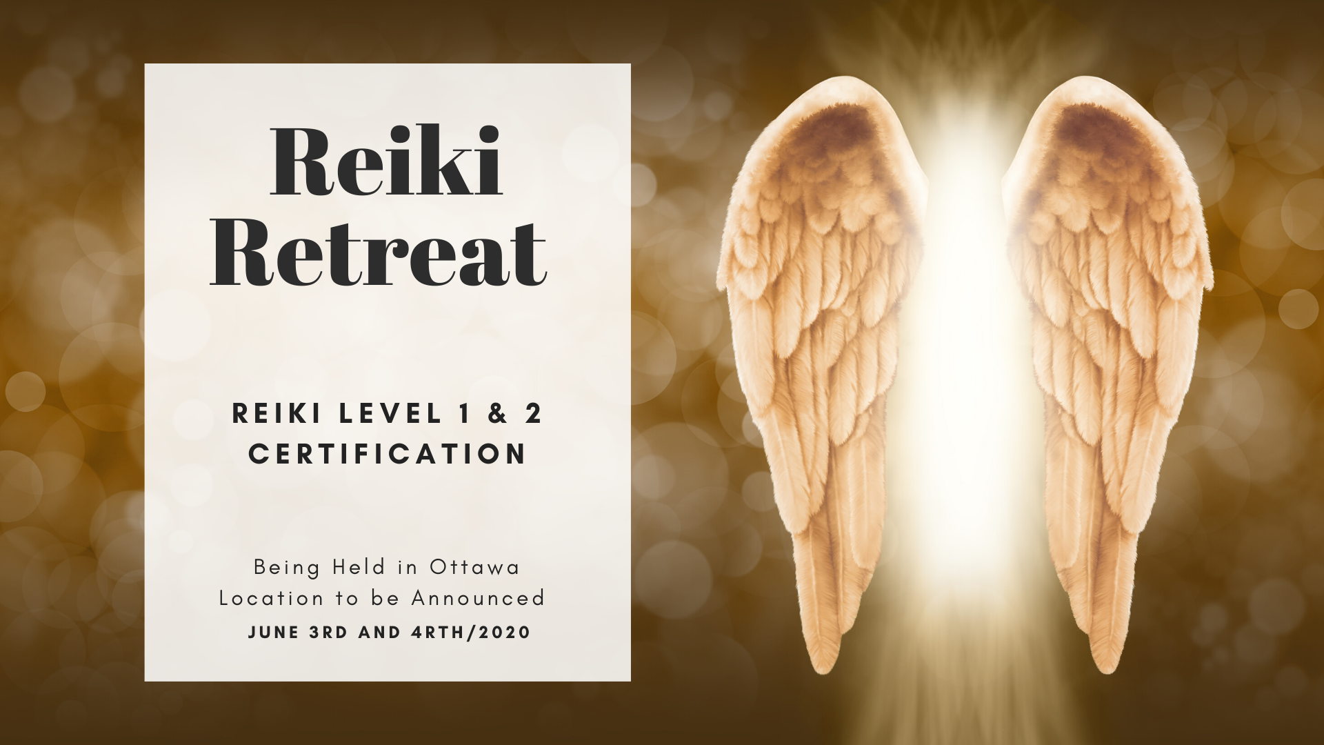 It's a Reiki Retreat!!