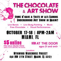CHOCOLATE & ART SHOW - MIAMI - OCTOBER 17th - 18th.
