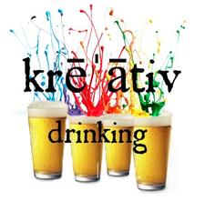 Kreativ drinking logo