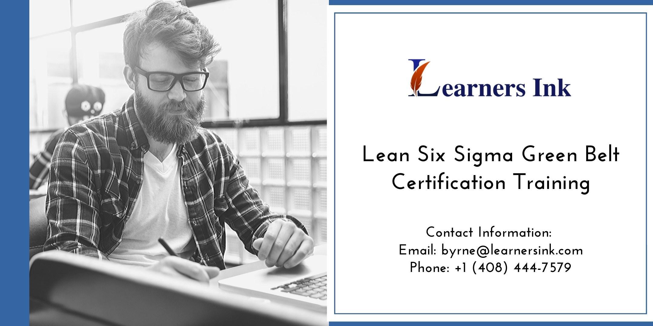 Lean Six Sigma Green Belt Certification Training Course (LSSGB) in McAllen