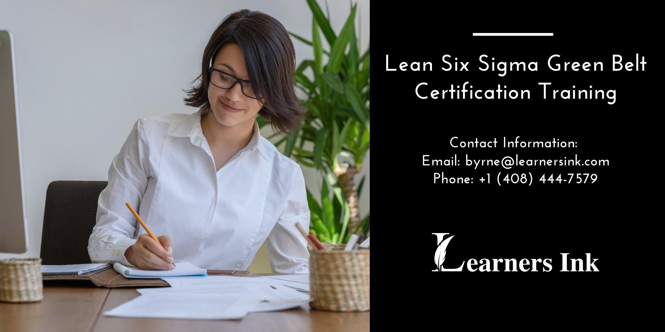 Lean Six Sigma Green Belt Certification Training Course (LSSGB) in Winnipeg