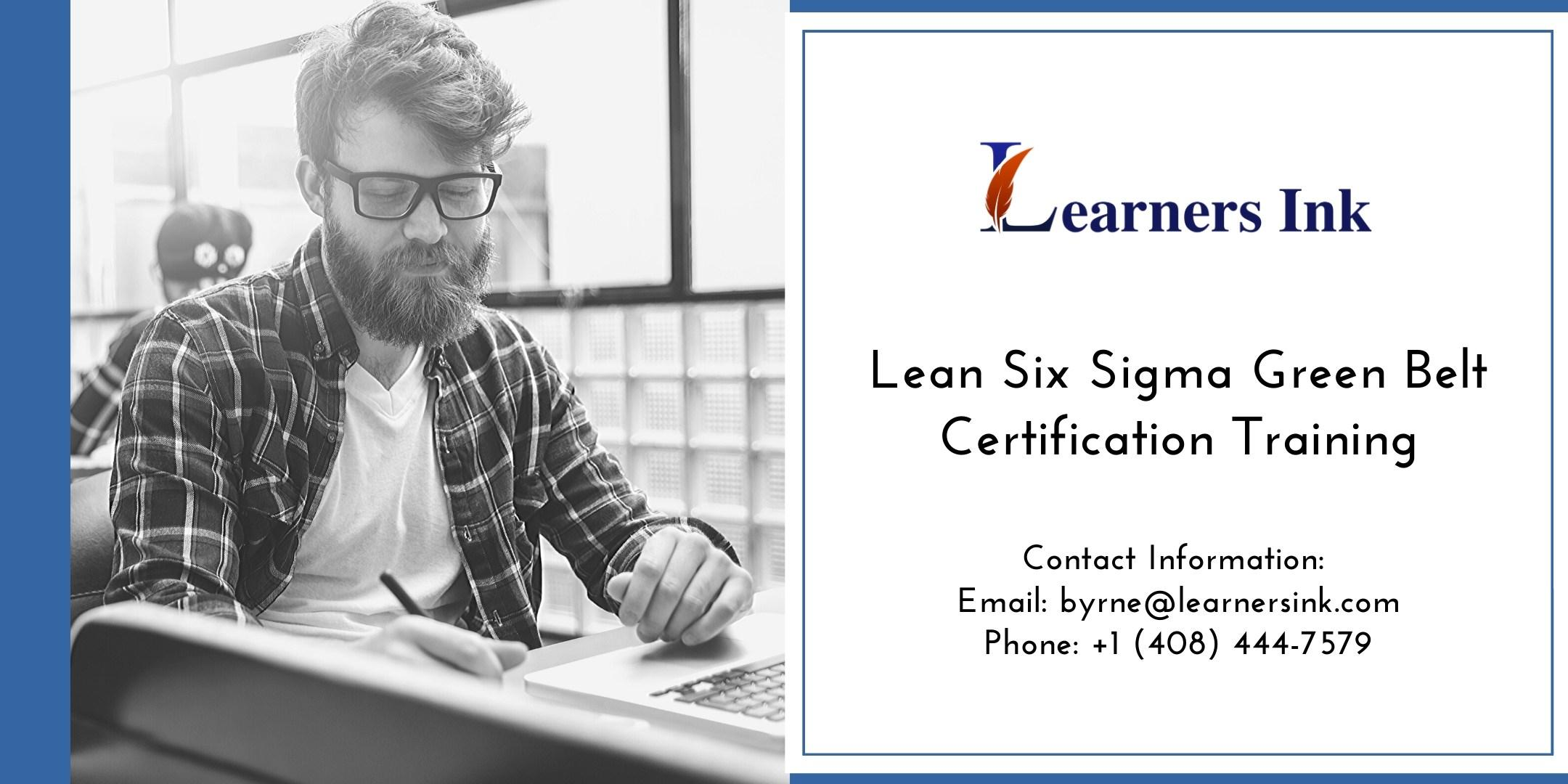 Lean Six Sigma Green Belt Certification Training Course (LSSGB) in Regina