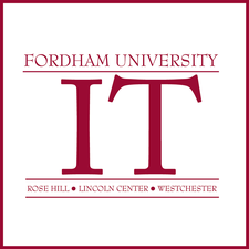 Faculty Technology Services | ITAC | Fordham IT | Fordham University logo