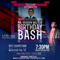 Mr. Kasaun Wilson Birthday Bash