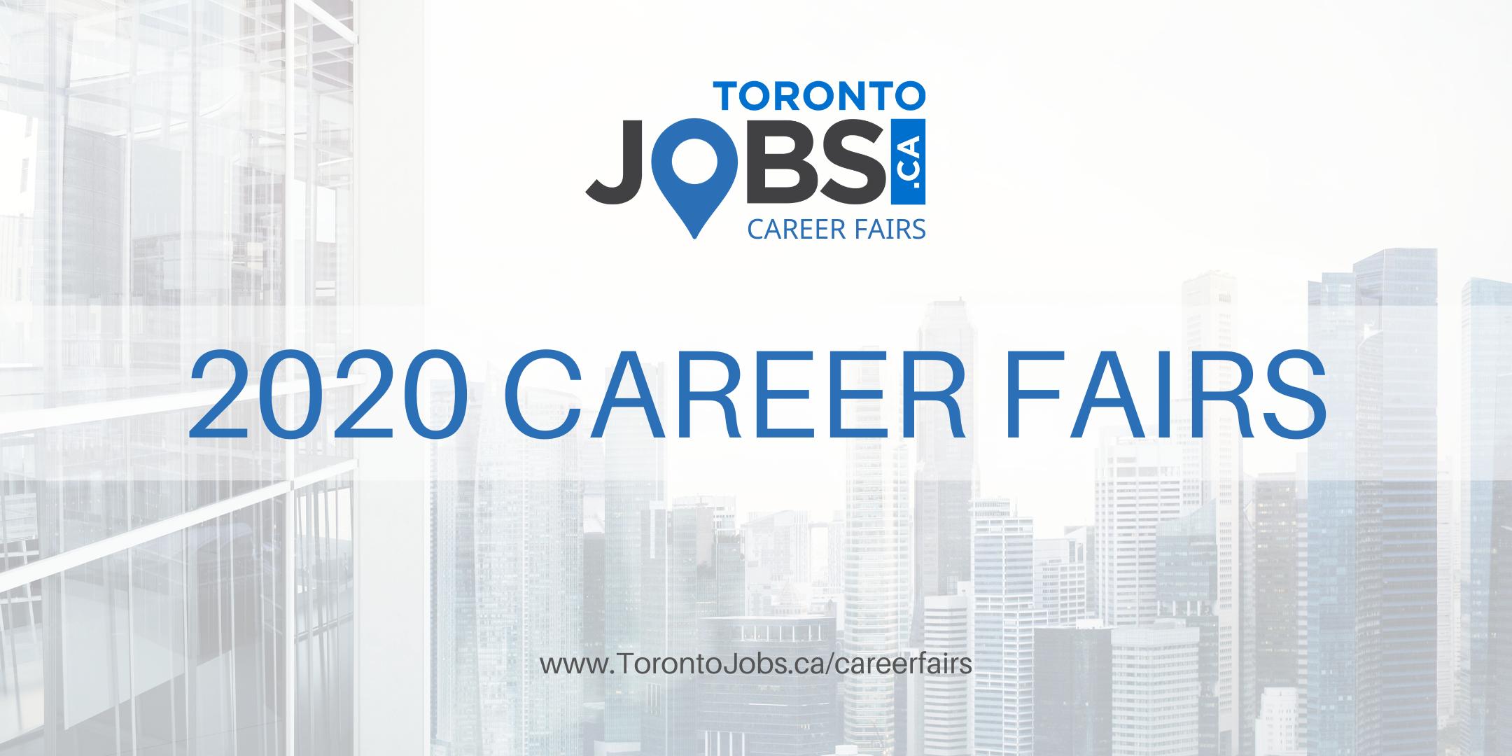 Toronto Career Fair presented by TorontoJobs.ca