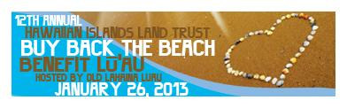 Buy Back the Beach 2013