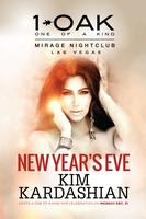 New Year's Eve with Kim Kardashian at 1 OAK Las Vegas...