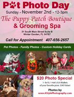 Pet Photo Day @ The Puppy Patch Boutique & Grooming Spa