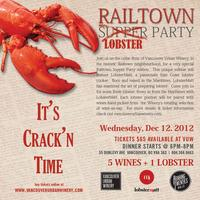 "Railtown Supper ""Lobster"" Party"