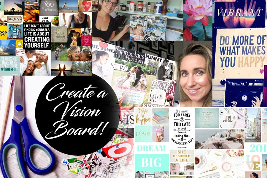 Sip Cocktails & Create A Dream Vision Board - Make Friends, Art And Have Fun!