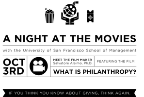 "Special Film Screening: ""What is Philanthropy?"""