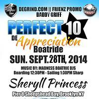 PERFECT 10 REDO APPRECIATION $10 BOAT RIDE