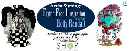 Artist Signing: Holly Randall