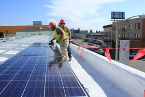 Mosaic Solar Investing Celebration