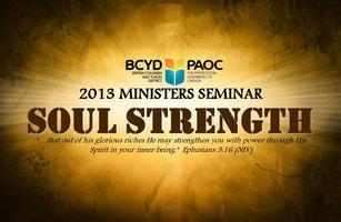 Ministers Seminar - Soul Strength | Kelowna
