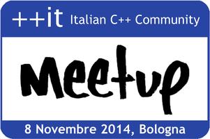 Italian C++ Community Meetup Bologna