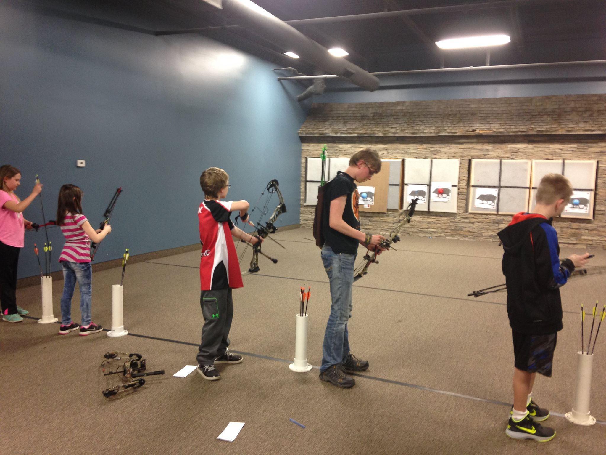 WAITE PARK Archery Country Kids Classes