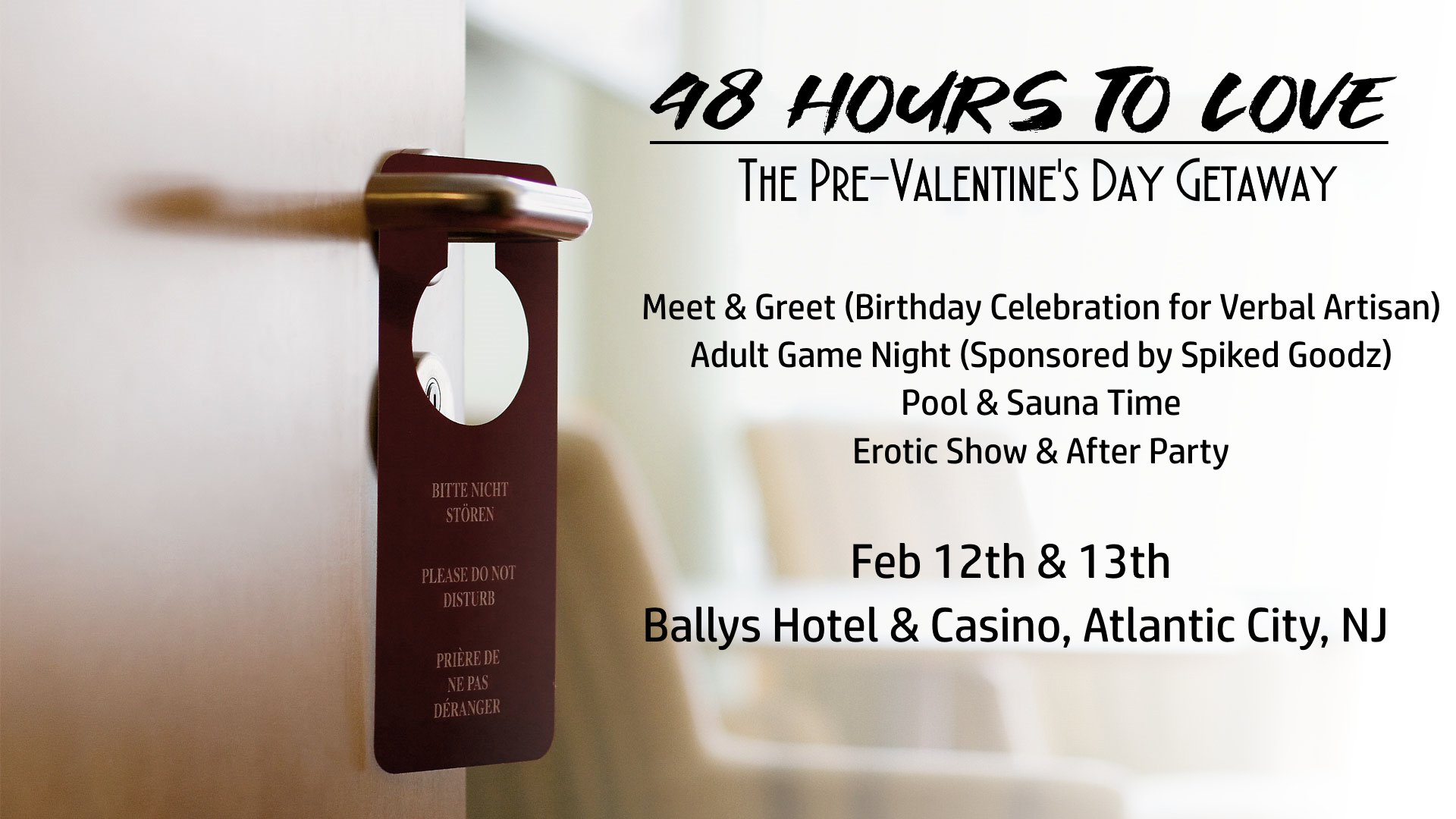 48 Hours to Love: A Valentine's Day Getaway