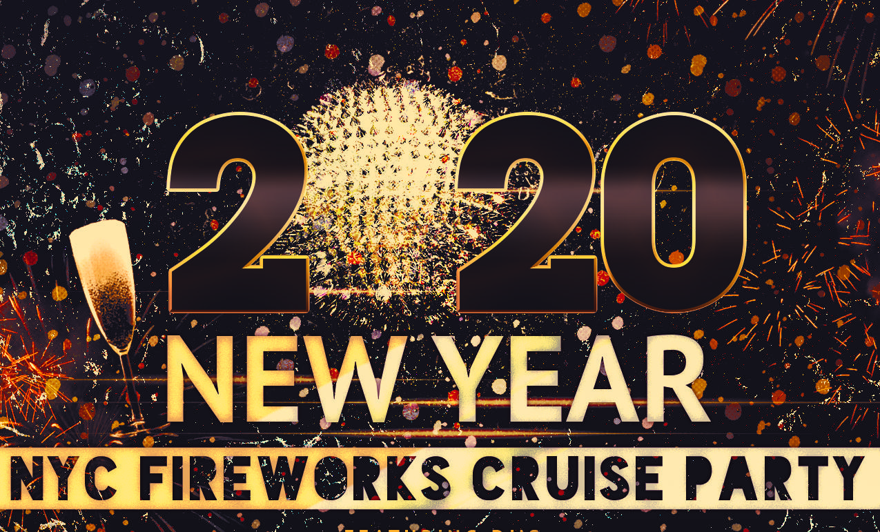 New York City New Years Eve Fireworks Cruise Boat Party