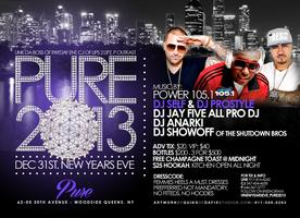 New Years Eve Pure 2013