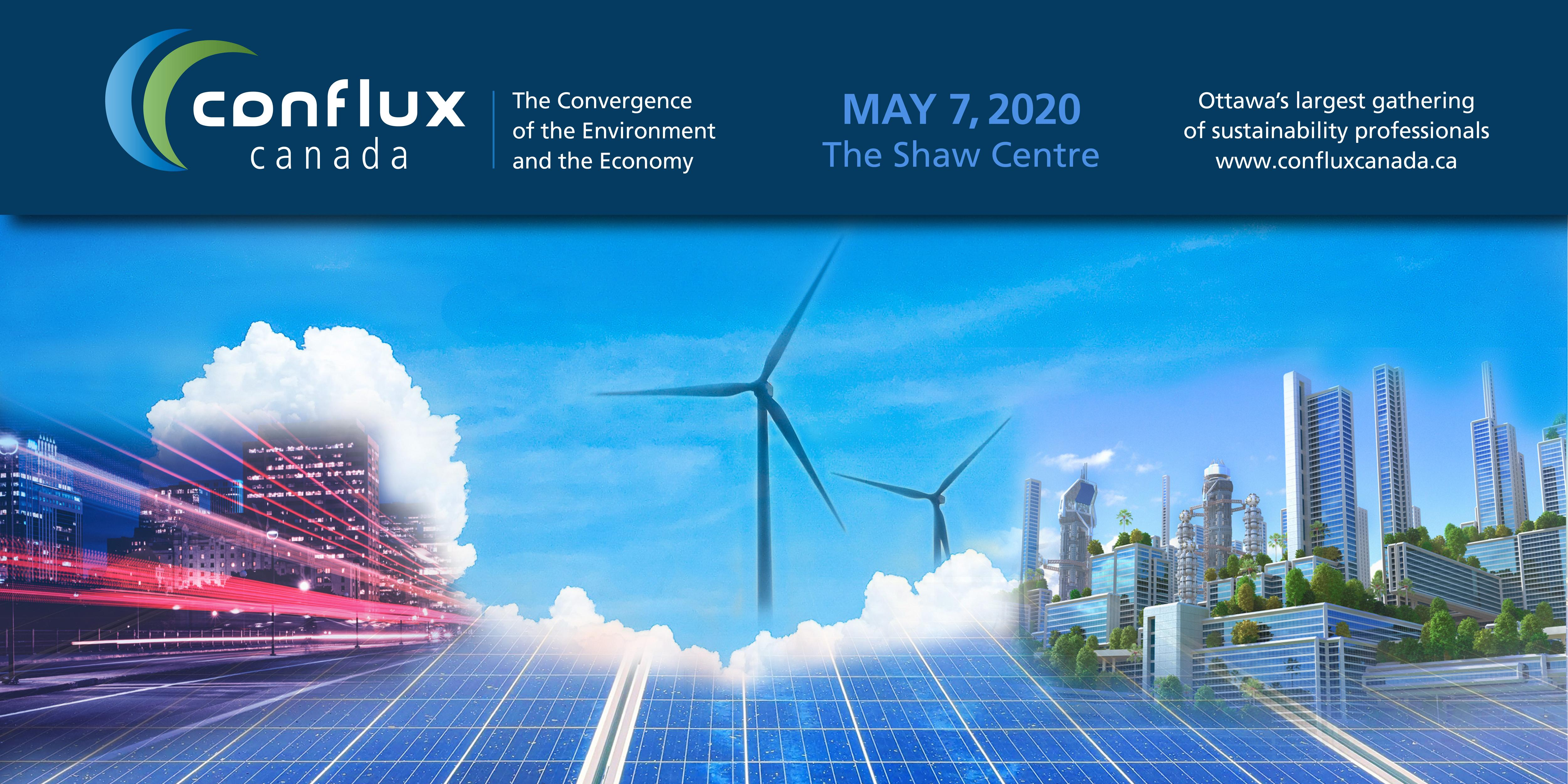 Conflux Canada   The Convergence of the Environment and the Economy