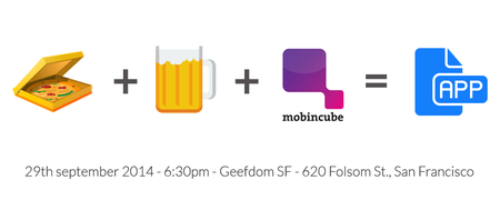 Create your own app while drinking beer
