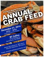 Φ Β Σ Christmas CRAB FEED