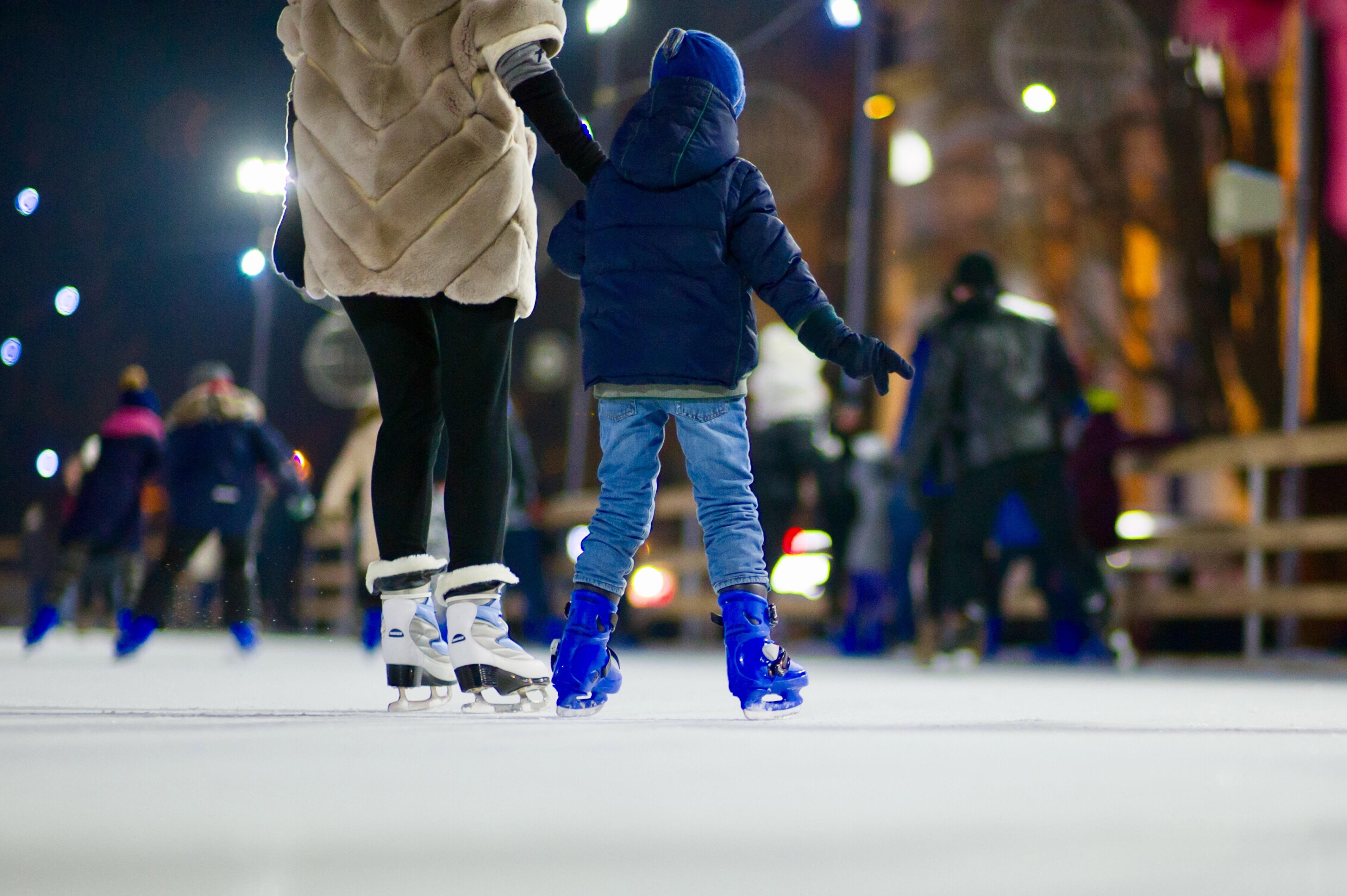 Ice + Lights: The Winter Village at Cameron Run