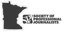 The Minnesota Pro Chapter of the Society of Professional Journalists logo