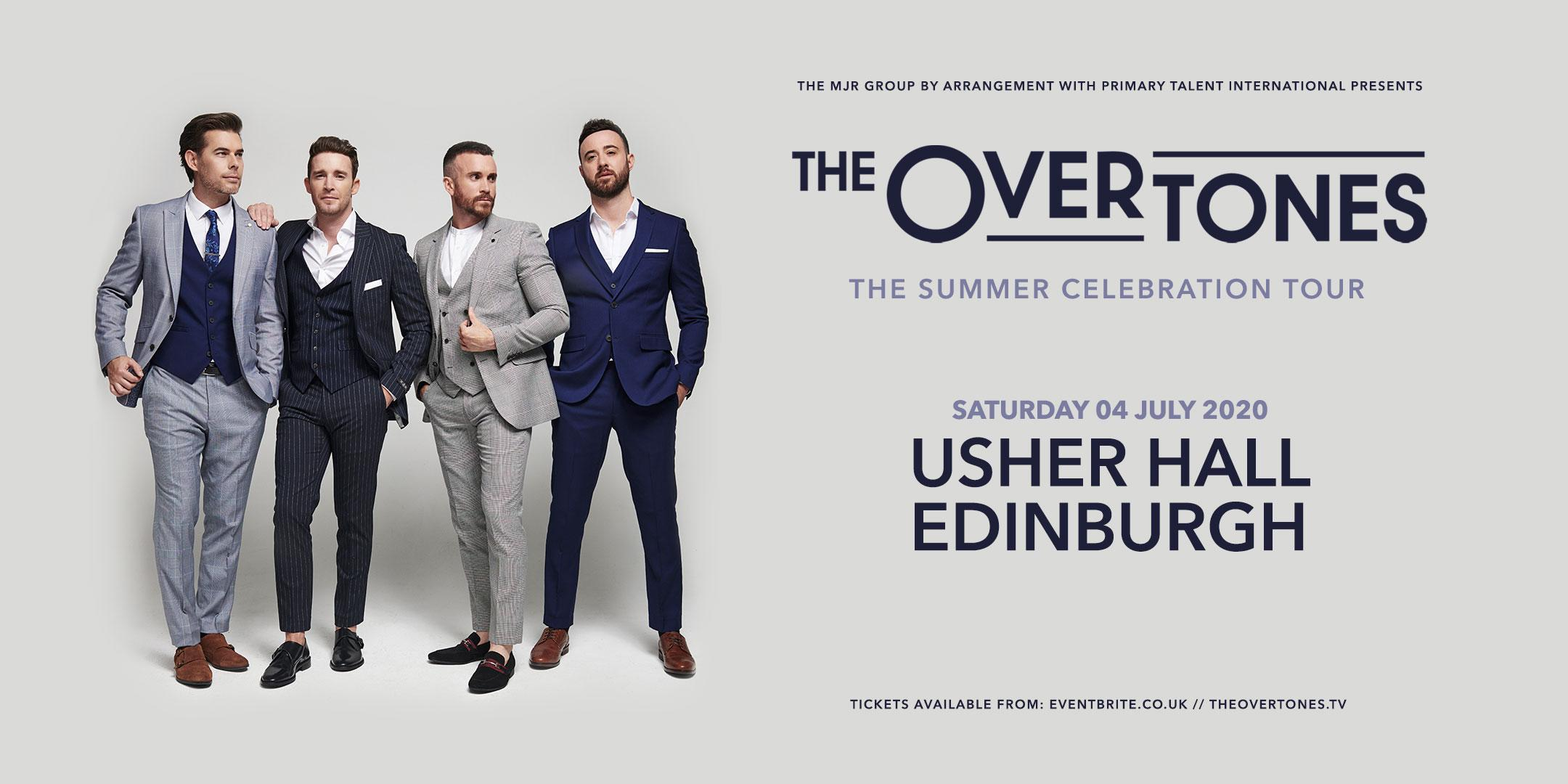 The Overtones (Usher Hall, Edinburgh)