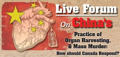 Live Forum: China's Practice of Organ Harvesting &...