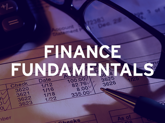 Spark Centre: Finance Fundamentals - March 10,24 and 31 (Mar-2020)