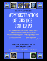 Administration of Justice Job Expo Tickets, Fri, Apr 24 ... on san ramon dvc campus, dvc concord campus, pleasant hill ca, map of southeastern technical college campus,