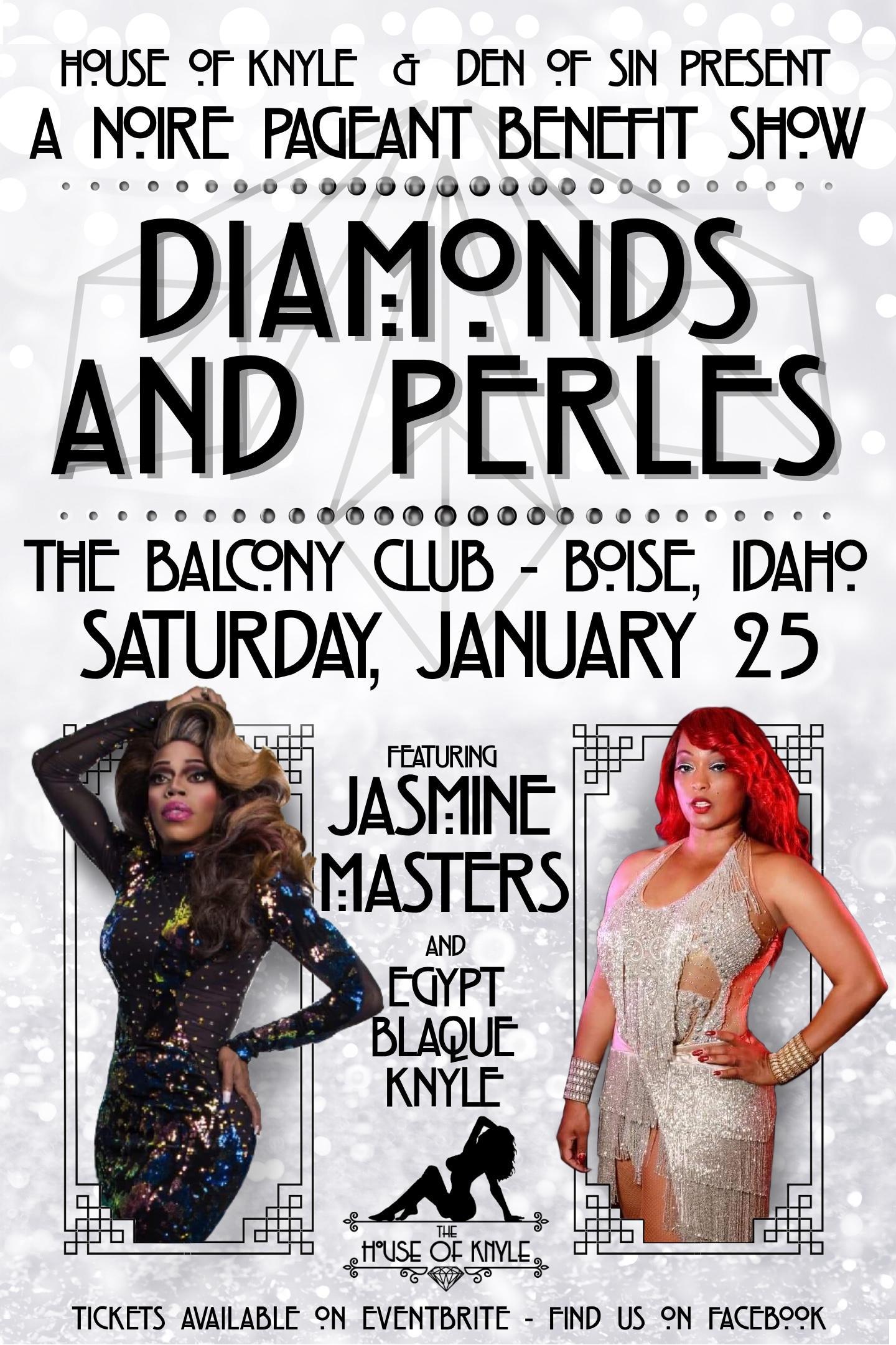 Diamonds and Perles Featuring Jasmine Masters