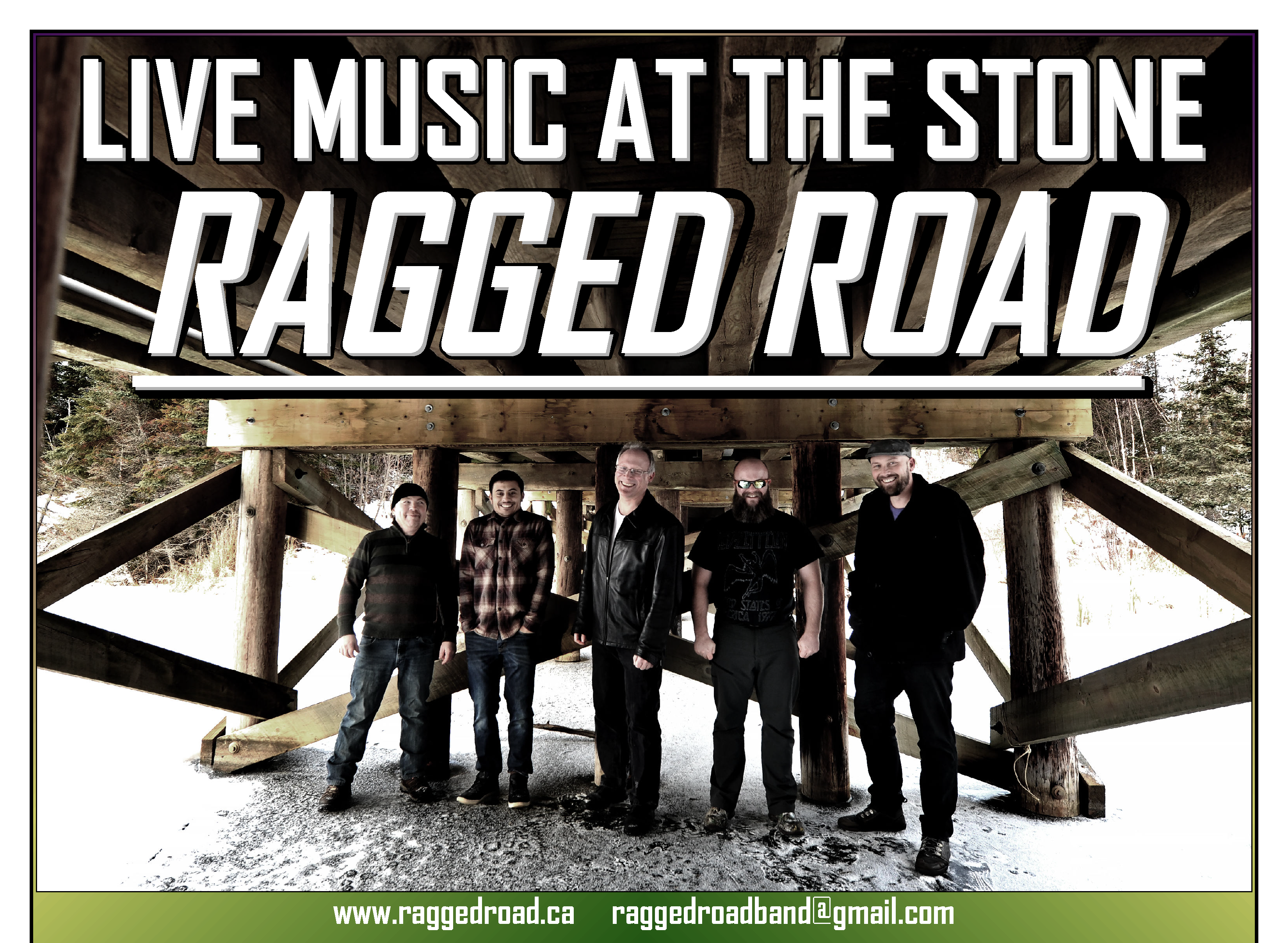 Ragged Road Plays the Stone
