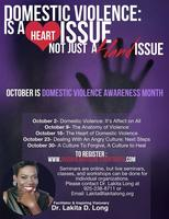 Domestic Violence is a Heart Issue not just a Hand...
