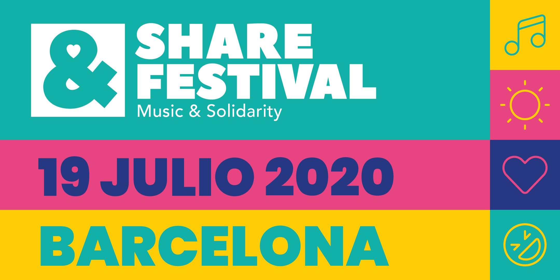 SHARE Festival 2020 | Domingo 19 Julio
