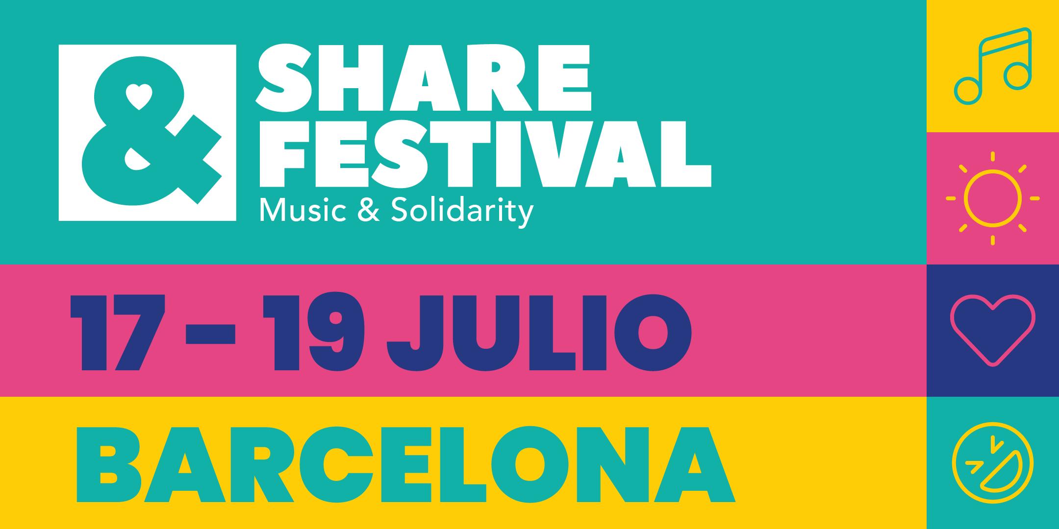 SHARE Festival 2020 | Abonos 17-19 Julio