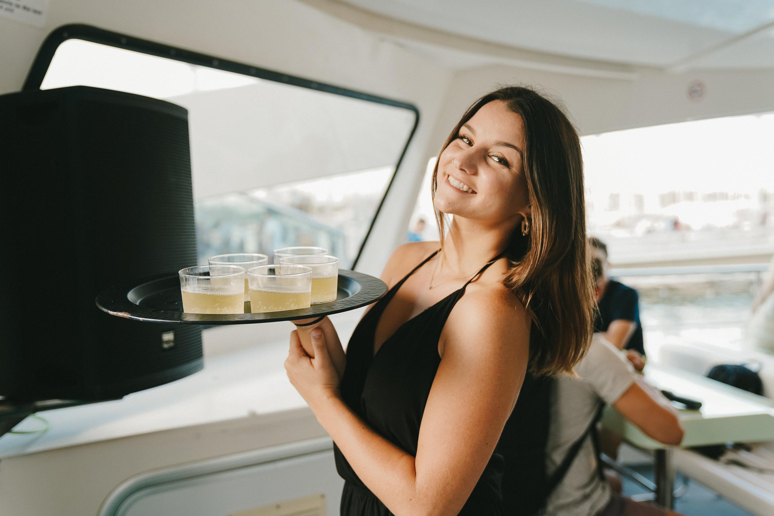Stoke Travel's Champagne Sunset Boat Party